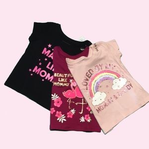 NWT C.Place 18-24m graphic shirts pack of 3